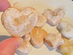 13カフェ:ちぎれるワンちゃん用手作りクッキー(りんご・かぼちゃ・にんじん)@ドッグカフェレストラン・ワンパーク大濠店
