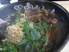 13ランチ:肉肉そば580円+肉ダブル200円@元祖肉肉うどん・春日店