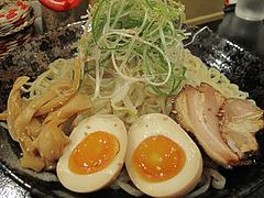 8ランチ:辛味噌つけそば大@廣島つけ麺本舗・ばくだん屋・大橋店