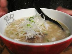 5魚介とんこつラーメンがん見@海鳴・中洲店