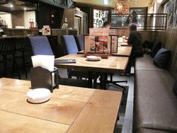 3テーブル席@ビストラ大名店