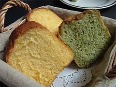 自家製パン@茶の華庵のランチ