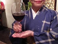 居酒屋:赤ワイン@居心地屋レオン・薬院・居酒屋