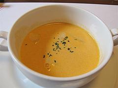 料理:冬瓜入りカボチャスープ@フレンチ創作料理レストラン Vie Vie(ヴィ ヴィ)・鳥栖