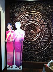 店内:タイ美人@タイ料理レストラン・バンダル・天神西通り
