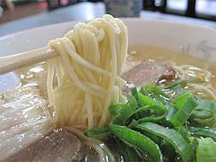 料理:ラーメン麺@香蓉軒・那珂川