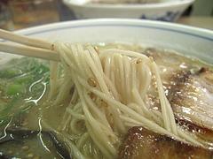 料理:ラーメン麺@博多ラーメン・味好・春日