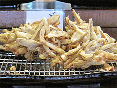 料理:かき揚げのごぼ天です@讃岐うどん大使・福岡麺通団