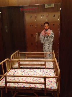 9ベビーベッド@道後温泉本館