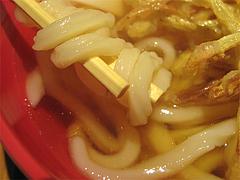 料理:ごぼう天の麺とすめ@うどん麦の穂・中州