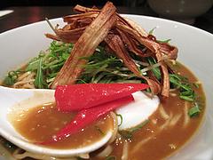 料理:渡辺通りカレー坦麺650円@博多屋・渡辺通