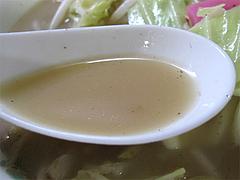 料理:ちゃんぽんのスープ@タケシタベーカリー喫茶部