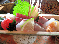 料理:糸島旬魚アップ@僧伽小野・糸島