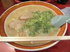 料理:ラーメン550円@成金ラーメン・博多駅前
