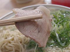 料理:ラーメンチャーシュー@元祖長浜ラーメン・ぶんりゅう