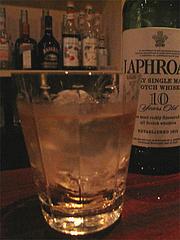 ラフロイグ10年@Bar Note's(バー・ノーツ)・大名