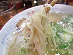 料理:ラーメン麺@麺屋・多吉・大橋