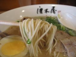 6ラーメン麺@唐木屋・六本松
