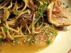 料理:屋台名物・焼きラーメンのスープ@屋台・新妻・天神・福たび