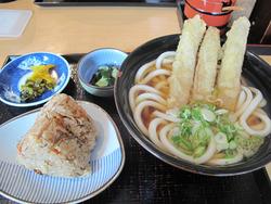8大徳定食600円@うどんそば大徳屋