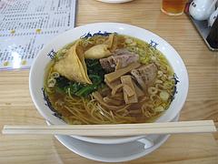 4ランチ:豚角煮ラーメン550円@黄金福ワンタンまくり・西長住店