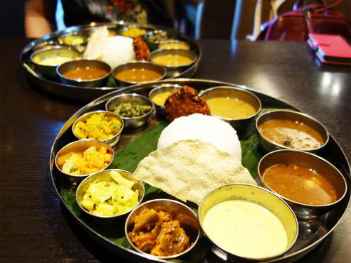 【福岡】天神で南インド料理ミールス♪@106サウスインディアン レストラン&バー
