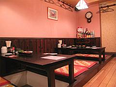 店内:テーブル席@やきとり処・博多こっこ家・春吉