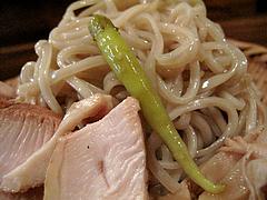 15つけ麺:ギンディージャ(スペイン唐辛子酢漬け)@麺道はなもこし(花もこし)・薬院
