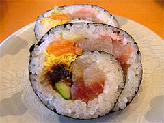 回転寿司『市場ずし魚辰』海鮮巻き420円@福岡・長浜・市場会館