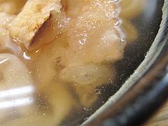 料理:ごぼう(うどん)すめ@葉隠うどん・博多