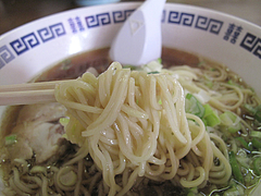 料理:ラーメン麺@中華料理・福楽軒・清川