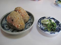 13ランチ:かしわ2個220円@恵味うどん・薬院