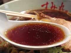 13ランチ:醤油ラーメンスープ@札幌味噌ラーメン・すみれ・博多店