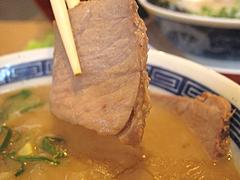 料理:コクとんこつらーめんチャーシュー@ラーメンまんぼ亭・赤坂