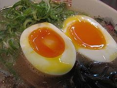 6ランチ:えび風味半熟卵100円@ラーメン幸心堂・大野城市