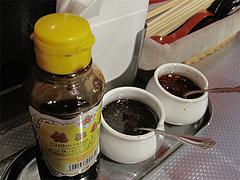 10店内:黒酢・黒マー油・ラー油@上海モンナリーサ・大名・天神西通り