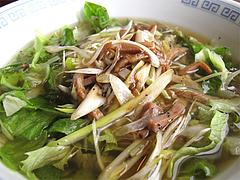 料理:ネギ汁そば(葱油湯麺)アップ@中華料理・点心楼・台北・若久