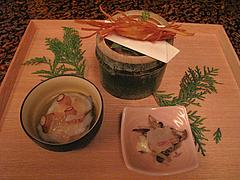 料理:秋涼鉢・日替わり三種@僧伽小野・糸島