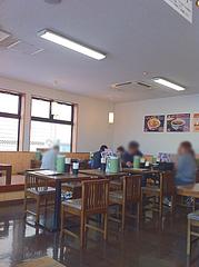 店内:禁煙席@鳴門うどん・久留米・山川