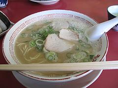 4ランチ:ラーメン450円@長浜ラーメン・餃子・長浜御殿・堤店