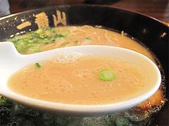 料理:390円ラーメンスープ@ごちそうラーメン一番山・大橋本店