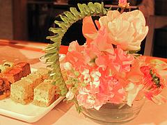 店内:テーブル用アレンジ花@ひなまつり・女子会