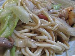 ランチ:皿うどんアップ@中華料理・王さん・高宮