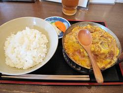 4かつ煮丼550円@かつ煮いし原