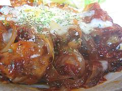 10ランチ:若鶏のトマトチーズ炒め@一やのごはん・春吉