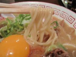 13肉玉そば麺@おとど・ラーメンスアジアム