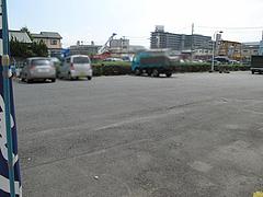 外観:駐車場@とんこつラーメン・たえちゃん