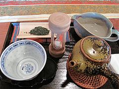 料理:煎茶セット全景@おちゃの舎 野の花・福岡県小郡市