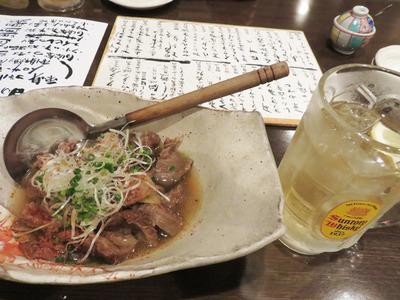 5牛スジの煮込み600円
