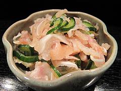 10昭和レトロな日本酒バー:ミミガーの酢の物@居酒屋・酒菜の店みき・大橋